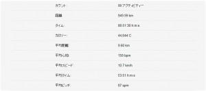 2014ラン記録