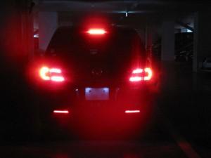 MPV テール6灯化 ブレーキ状態